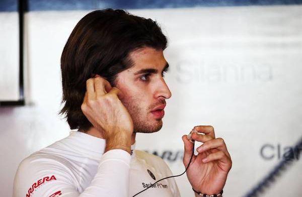 Giovinazzi believes he is 'lucky' to be racing alongside Raikkonen