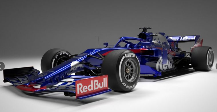 All angles of the new Toro Rosso STR14 revealed