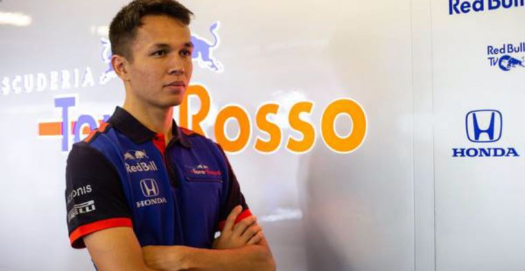 Toro Rosso-debutant Albon: First goal is to get comfortable in the car