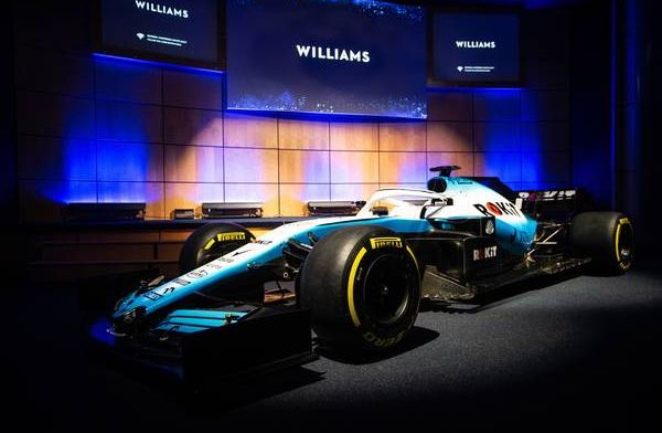 Reaction from Williams' new look and sponsor