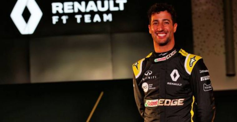 Ricciardo says he will be a more mature person in 2019 F1 season