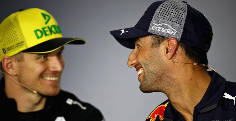 Daniel Ricciardo: Renault mist weinig, vergeleken met Red Bull Racing