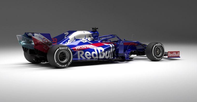 Toro Rosso: 'Gehele achterzijde van de nieuwe bolide komt van Red Bull