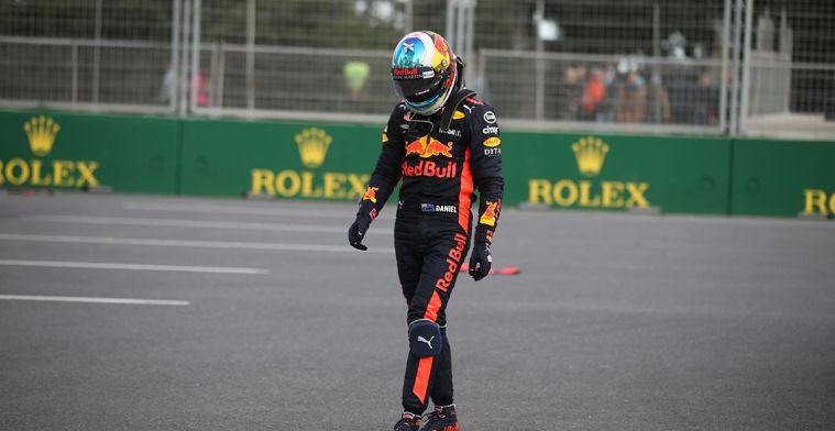Ricciardo: 'Crash Baku met Verstappen heeft ook te maken met overstap Renault'