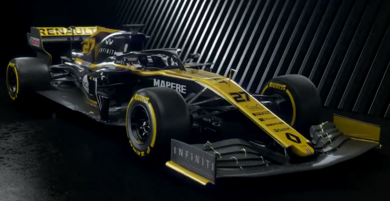 Renault F1 team reveals RS19 to the world
