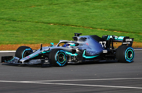 Look: New Mercedes W10 makes on track debut!