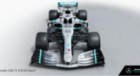 Image: F1 World champions Mercedes reveal W10 to the world