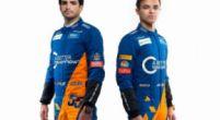 Afbeelding: De reacties van Carlos Sainz en Lando Norris op de nieuwe MCL34
