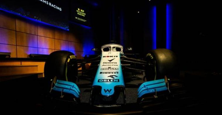 Williams reveal renders despite cancelling shakedown