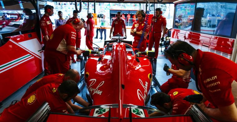 Ferrari mechanic Francesco Cigarini to make return after leg-break pitstop
