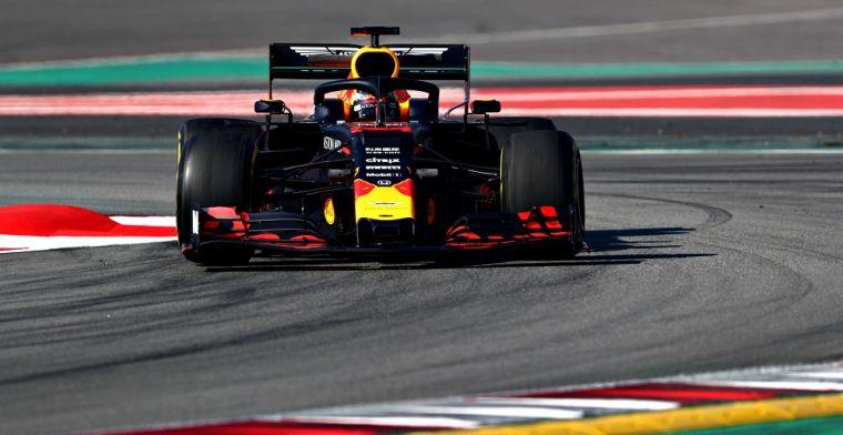 Red Bull positief na eerste testkilometers Verstappen