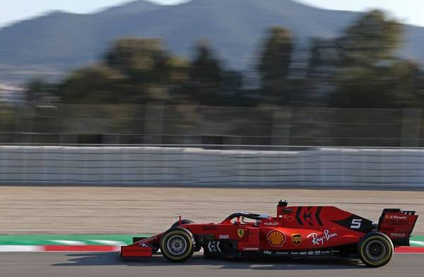 Sebastian Vettel loses control of Ferrari and SPINS in F1 testing