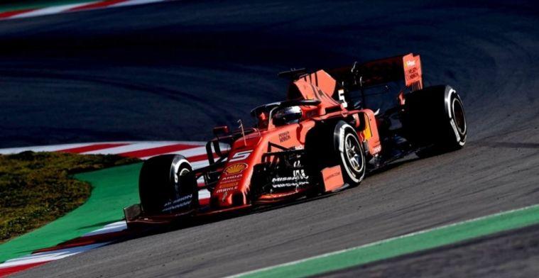 Samenvatting F1 wintertest dag 1: Ferrari aan de leiding, productieve dag Red Bull