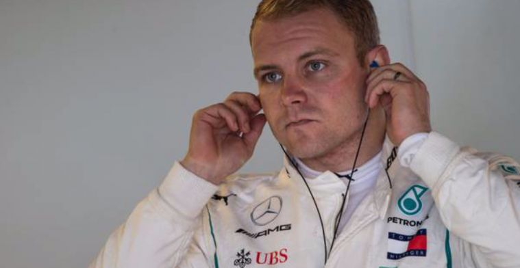 Valtteri Bottas is the first out on track for winter testing!
