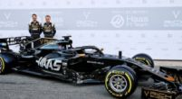 Afbeelding: Ook Haas showt de nieuwe bolide in Barcelona