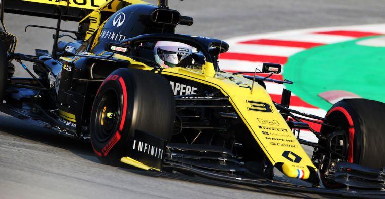 Ricciardo over nieuwe reglementen: ''Geen reden om nu al enthousiast te worden''