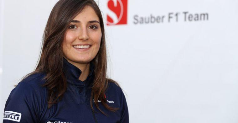 Vrouw in de Formule 1 een stapje dichterbij: Calderon verkast naar Formule 2!