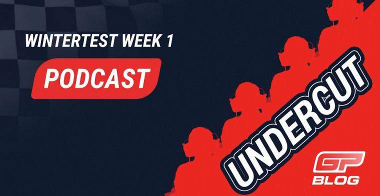 PODCAST: DE UNDERCUT #8 Wat weten we na de eerste F1 testweek?