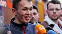 Image: Albon was shocked when he recieved Toro Rosso call