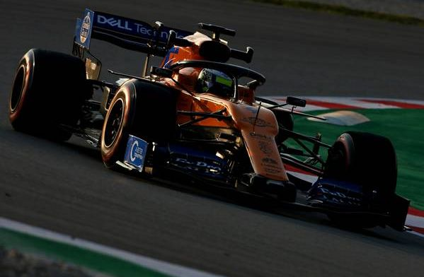 Norris tops the times for McLaren - F1 testing round-up