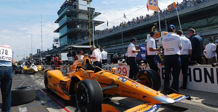 McLaren confirm Alonso Indy500 number ahead of triple crown attempt