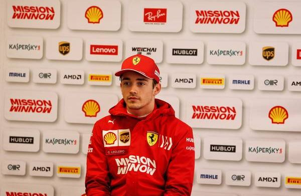 Charles Leclerc says Ferrari still have work to do