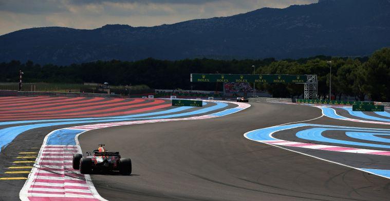 Boullier: Reacties op terugkeer Franse Grand Prix erg kil