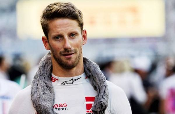 Grosjean 'not worried' about losing track time due to exhaust problem