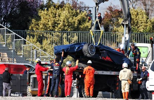 Red Bull forced to switch to older parts following Gasly crash