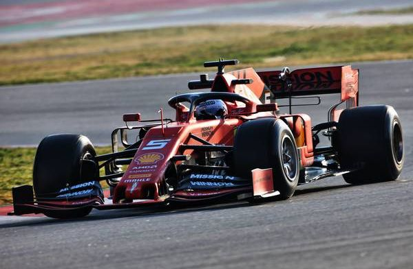 Vettel shows Ferrari pace on final day - F1 testing morning round-up