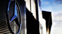 "Image: Mercedes shows off Formula E car in ""teaser"" livery"