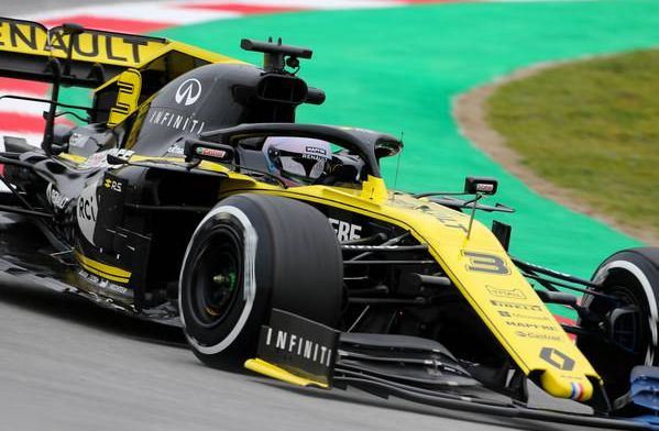 Hulkenberg glad he's on the same line as Ricciardo