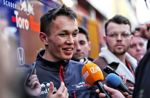 Albon had 'no nasty surprises' with his Toro Rosso during testing