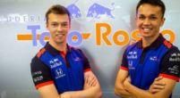 Afbeelding: Albon ziet teamgenoot Kvyat als leider bij Toro Rosso