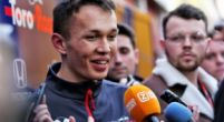 Image:  Albon had 'no nasty surprises' with his Toro Rosso during testing