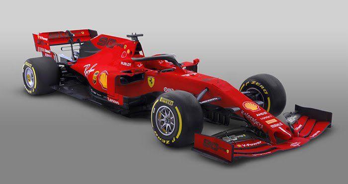 Ferrari reveals replacement livery for Australian Grand Prix