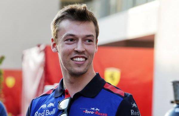 """Kvyat spreekt van voorbereid Toro Rosso: """"We zijn op juiste pad"""""""