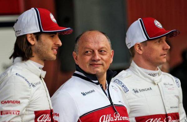 Vasseur wanting a positive start for Alfa Romeo
