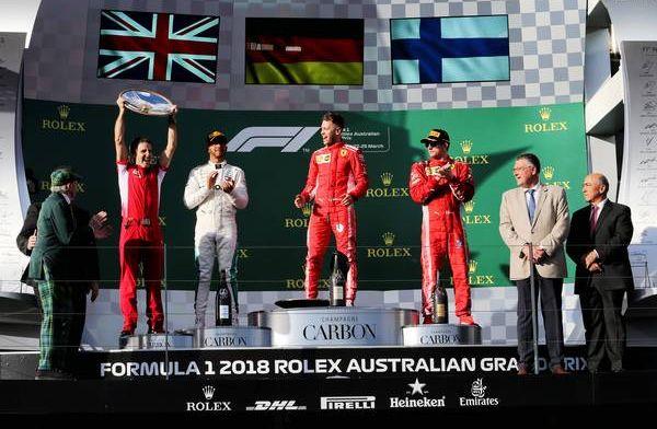 POLL: Wie gaat de Grand Prix van Australië winnen?