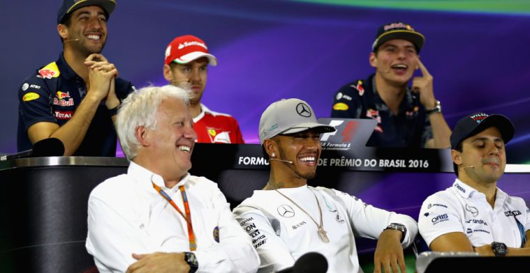 Watch: Sebastian Vettel and Lewis Hamilton pay tribute to Charlie Whiting