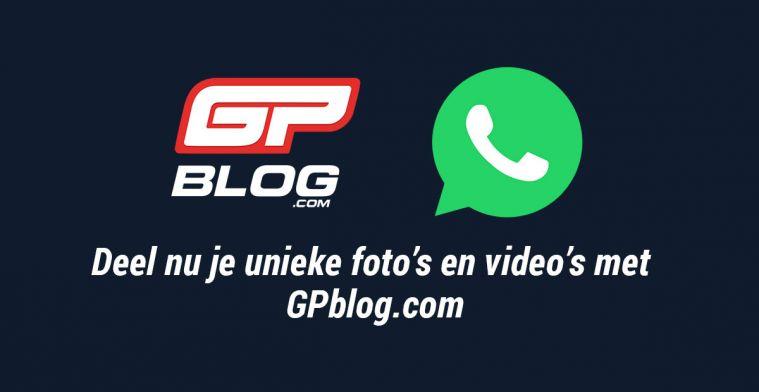 Oproep: Deel nu je foto's en video's met GPblog via Whatsapp!