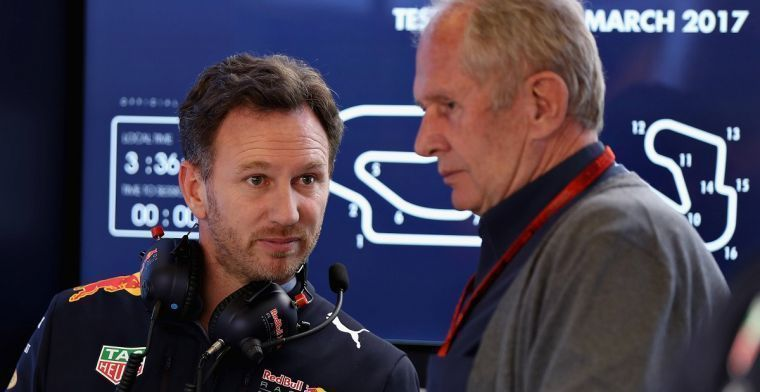 Horner bevraagt teambaas roulatie bij Ferrari voor microfoon Italiaanse pers