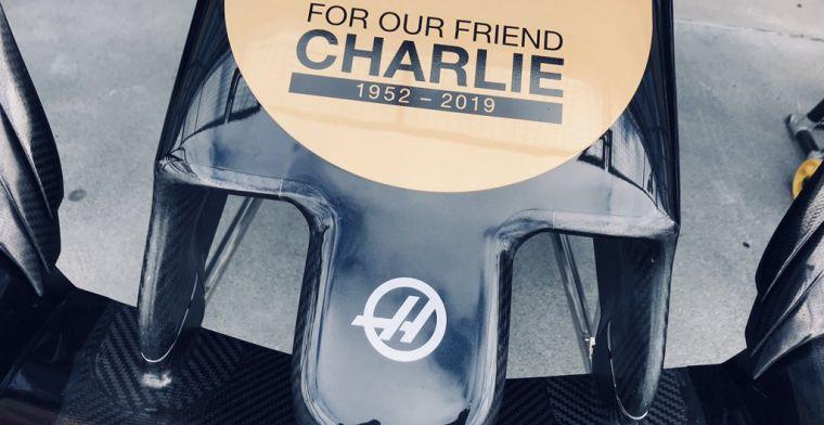 Haas brengt eerbetoon aan Charlie Whiting: Zonder hem waren wij hier niet