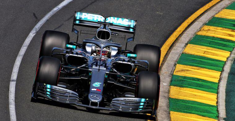 Samenvatting VT2 Australië: Hamilton P1, Verstappen naar P3