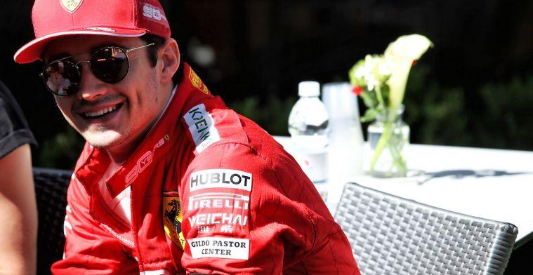 Leclerc bekijkt het positief na zijn eerste vrijdag in Melbourne