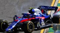 Image: Albon admits he is still getting used to F1 after messy Friday practice