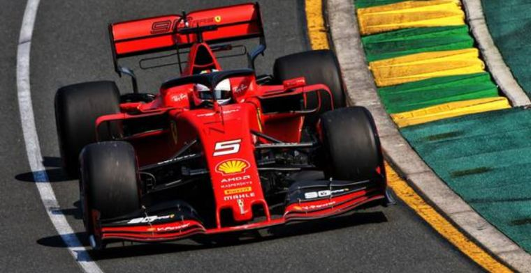 Vettel staying positive despite gap to Mercedes