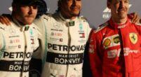 Afbeelding: De (voorlopige) startgrid voor de Grand Prix van Australië 2019