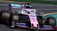 Image: Sergio Perez believes the Racing Point car has more potential
