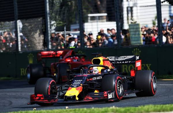 Verstappen happy with podium finish: Challenging Mercedes very good for us